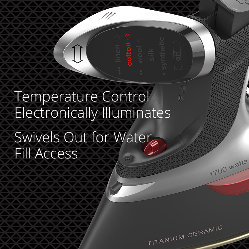 Illuminated Temperature Control