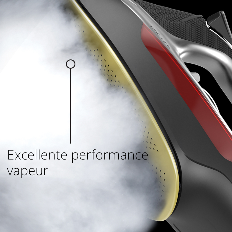 Excellente performance vapeur