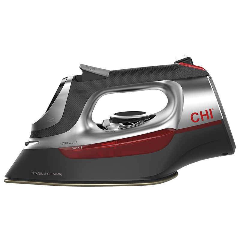 CHI Electronic Retractable Iron 13102C - Side View